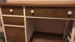 Beautifully refurbished vintage desk and chair