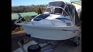 Boat Quintrex Bayranger 475 Devonport Devonport Area Preview