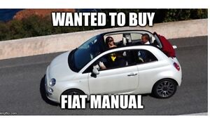 Wanted to buy Fiat