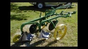 2 furrow drag plow - wanted