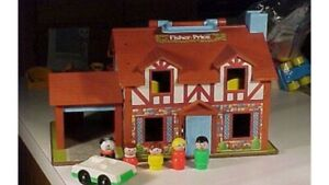 Fisher price little people cottage home