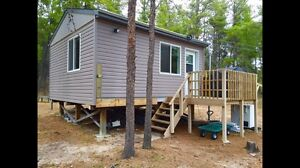 ***MINIMUM 2 NIGHT STAY** LESTER BEACH CABIN RENTAL IN THE WOODS