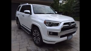 2015 Toyota 4Runner limited in excellent condition