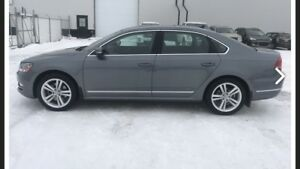2015 Volkswagen Passat TDI Highline low kms