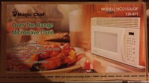 Over the Range Microwave $100