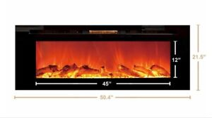 Wanted touchstone 80004 recessed eletric fireplace