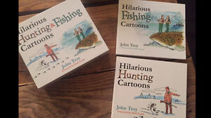 Hardcover fishing and hunting Cartoons Books