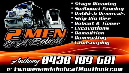 Rubbish removal/dirt removal/ bobcat and excavator hire Smeaton Grange Camden Area Preview
