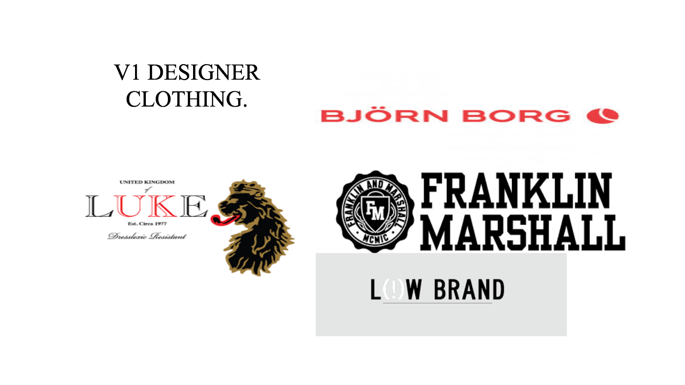 V1 Designer Clothing