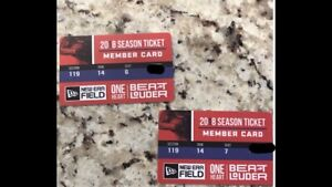 Buffalo Bills tickets - pair