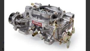 1406 edelbrock 600cfm carb - like new