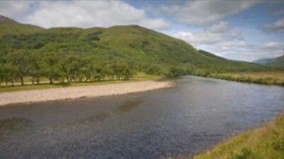 Scotland Salmon Fishing Lodge Holiday with Use of Hardy Sage Simms Abel Greys