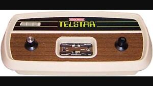 Vintage Telstar pong video game