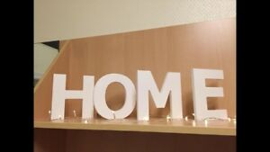 Custom made HOME sign