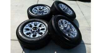 FORD SUPERDUTY WHEELS - COMPLETE