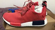 Red  R1 NMD Adidas shoe US size 7  - Women Strathfield Strathfield Area Preview