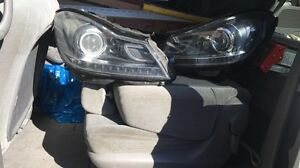 Mercedes Benz  C300 C350 C400 Headlights.