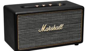 Marshall Bluetooth speaker.