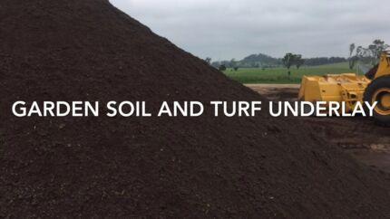 Garden soil - turf underlay - lawn fertiliser O466 606 639