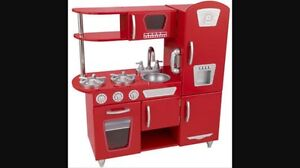 Kidcraft red play kitchen Coolamon Coolamon Area Preview