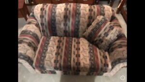 Loveseat in Good Condition. $50. Pick up Thickwood.