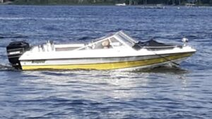 15ft boat with mercury motor