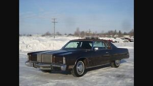 ISO: 74-76 Imperial or Chrysler Coupe