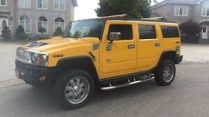Hummer H2 | Yellow | Chrome | Clean