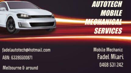 AUTOTECH mobile mechanical services
