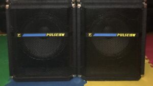 """YORKVILLE BASS BINS PA SPEAKERS 15"""" SUB WOOFERS"""
