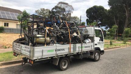 Adelaide Free scrap metal removal