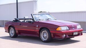 MUSTANG CONVERTIBLE GT SHOW CAR 1989 Kellyville The Hills District Preview