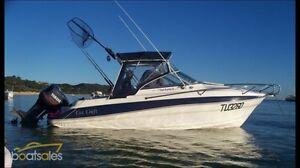 Boat 5.5m cox craft rumrunner Yamaha Beerwah Caloundra Area Preview