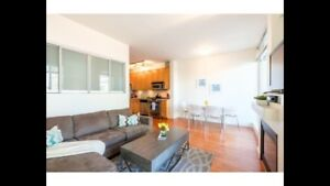 2 bedroom, solarium at Cambie and west 2nd ave.