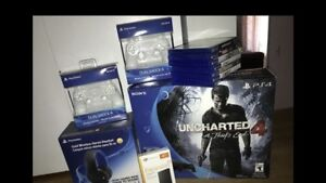 PS4, games, headset, hard drive expansion and more