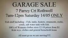 garage sale rothwell Rothwell Redcliffe Area Preview