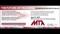 April 7 2017 Manitoba Trucking Association AGM Winnipeg