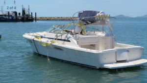 Boat damaged riviera offshore