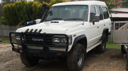 12HT Landcruiser hj61 Sahara 8 seater 33 Cecil Park Liverpool Area Preview
