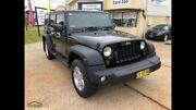 2009 Jeep Wrangler JK Sports Unlimited 4x4 5sp Auto Diesel Corindi Beach Coffs Harbour Area Preview