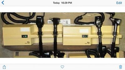 Welch Allyn 76710 System Heads Total Of 2 Complete Systems Speculas Power Cords