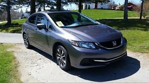 2014 Honda Civic Ex 5spd