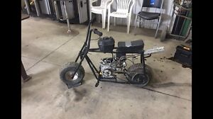 Ungoverned 6.5hp Mini Bike with Pro Circuit Pipe