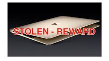 STOLEN- $500 REWARD OFFERED - APPLE MACBOOK + WALLET Tamworth 2340 Tamworth City Preview