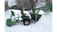 Pay per visit snow removal