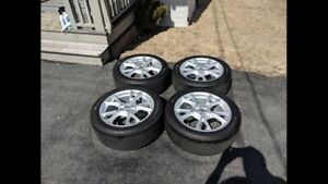 "MINT MINT MINT 4 - 18"" tires/rim package"