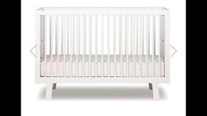 oeuf sparrow crib white - Oeuf Sparrow Crib