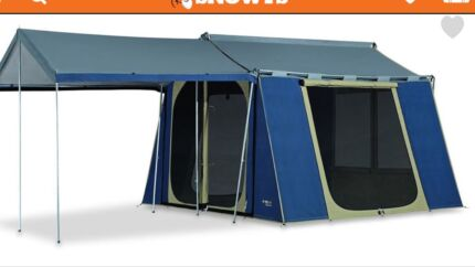 Canvas tent  sc 1 st  Gumtree & Ute tent custom made. | Camping u0026 Hiking | Gumtree Australia South ...