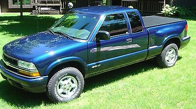 1996-08 Chevy S10/GMC Sonoma SPORTSIDE Short Bed Hatch Style Tonneau by Craftec  for sale  Wylie