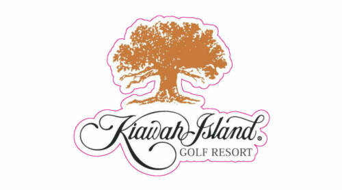 "Kiawah Island Golf Resort Logo Decal - 2"" x 2.5"""